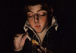 Ragazzo che accende una candela, 1570-1575, Leandro da Ponte, detto Bassano